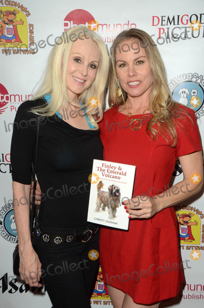 Donna Spangler Photo - Donna Spangler Christy Oldhamat the Finley and the Emerald Volcano Book Launch Party presented by PhotoMundo Publishing and DemiGoddess Chronicle OrangeBone Los Angeles CA 03-29-16