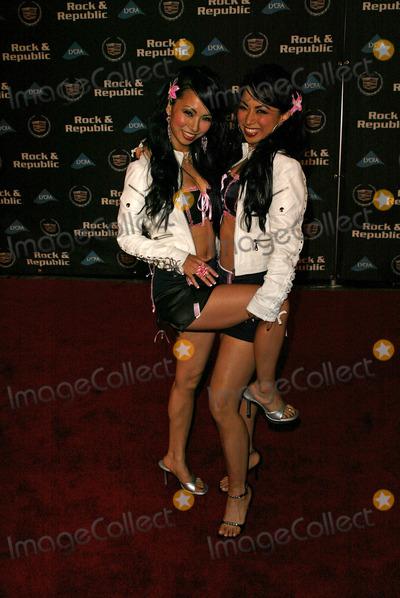 Fantasy Twins Photo - Fantasy Twins at the Cadillac Presents Rock  Republic Fall 05 Fashion Show  Sony Studios Culver City CA 03-19-05