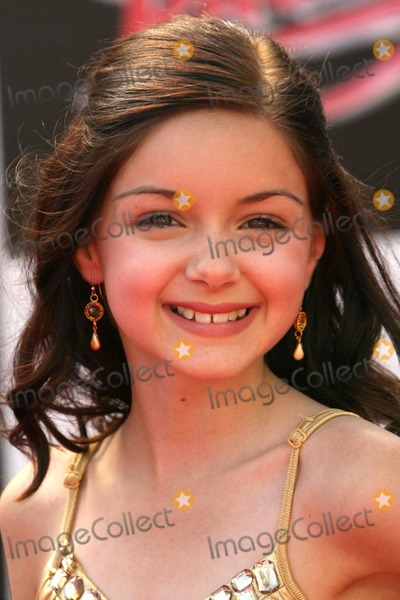 Ariel Winter Photo - Ariel Winter at the Los Angeles premiere of Speed Racer Nokia Theatre Los Angeles CA 04-26-08
