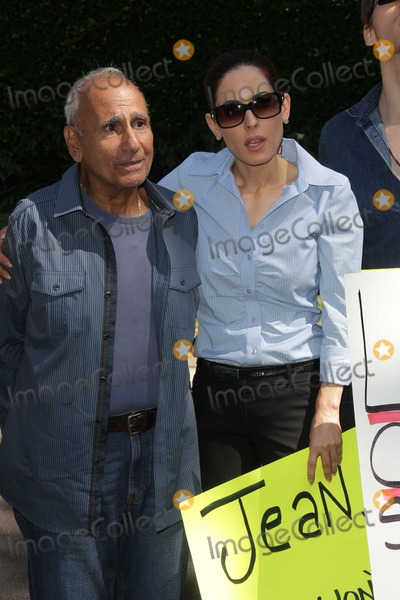 Casey Kasem Photo - Mouner Kasem Kerri Kasemat a protest involving Casey Kasems children brother and friends who want to see him but have been denied any contact  Private Location Holmby Hills CA 10-01-13