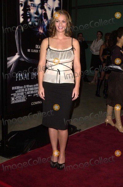 AJ Cook Photo - AJ Cook at the premiere of New Line Cinemas Final Destination 2 at the Cinerama Dome in Hollywood CA 01-30-03