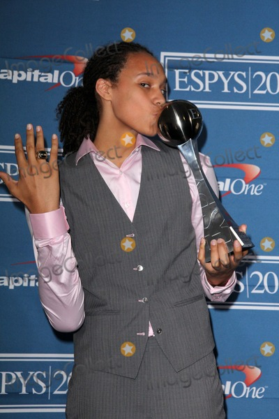 Brittney Griner Photo - Brittney GrinerOlivia Munnat the 2012 ESPY Awards Press Room Nokia Theatre Los Angeles CA 07-11-12