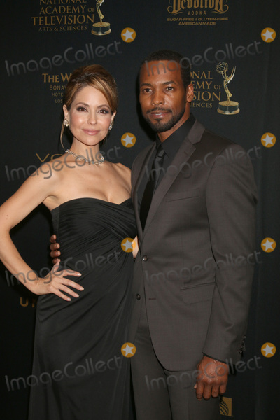 Anthony Montgomery Photo - Lisa LoCicero Anthony Montgomeryat the 43rd Daytime Emmy Creative Awards Press Room Westin Bonaventure Hotel Los Angeles CA 04-29-16