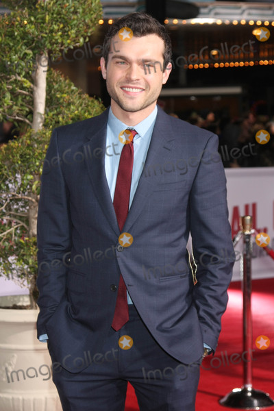 Alden Ehrenreich Photo - Alden Ehrenreichat the Hail Caesar World Premiere Village Theater Westwood CA 02-01-16