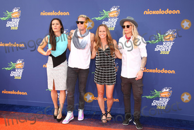 Ali Krieger Photo - Ali Krieger Abby Wambach Christie Rampone Ashlyn Harrisat the Nickelodeon Kids Choice Sports Awards 2015 UCLAs Pauley Pavilion Westwood CA 07-16-15