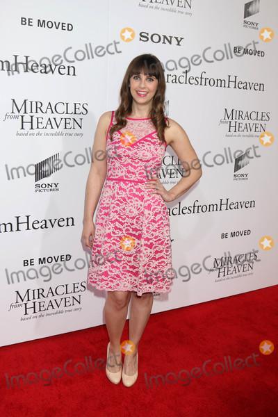 Amanda Markowitz Photo - Amanda Markowitzat the Miracles From Heaven Premiere Arclight Hollywood CA 03-09-16