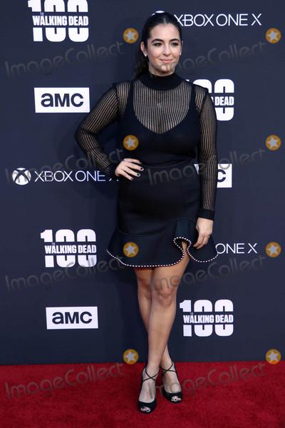 Alanna Masterson Photo - Alanna Mastersonat The Walking Dead 100th Episode Celebration Greek Theater Los Angeles CA 10-22-17