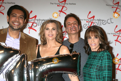 Abhi Sinha Photo - LOS ANGELES - MAR 26  Abhi Sinha Gina Tognoni Christian LeBlanc Kate Linder at the The Young and The Restless Celebrate 45th Anniversary at CBS Television City on March 26 2018 in Los Angeles CA