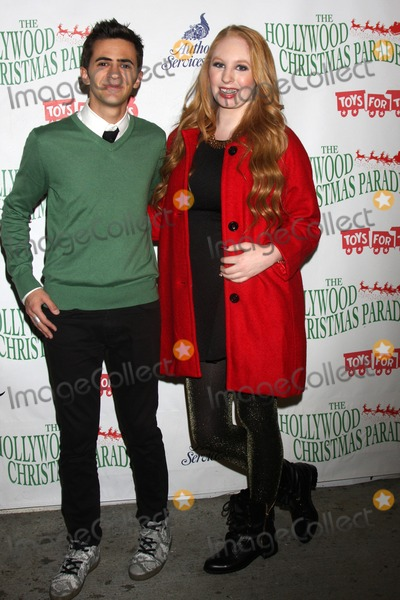 Ryan Pinkston Photo - LOS ANGELES - NOV 30  Ryan Pinkston Elizabeth Stanton at the 2014 Hollywood Christmas Parade at the Hollywood Boulevard on November 30 2014 in Los Angeles CA