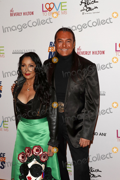 Apollonia Kotero Photo - LOS ANGELES - MAY 10  Nick Chavez Apollonia Kotero at the Race to Erase MS Gala at the Beverly Hilton Hotel on May 10 2019 in Beverly Hills CA