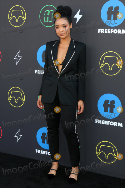 Aisha Dee Photo - LOS ANGELES - MAR 27  Aisha Dee at the 2nd Annual Freeform Summit at the Goya Studios on March 27 2019 in Los Angeles CA