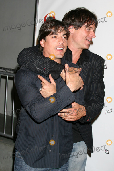 Darin Brooks Photo - Bryan Datillo  Patrick Muldoon  arriving at the Pre-Emmy Nominee Party hosted by Darin Brooks benefiting Tag the World at Area Club in Los Angeles CAJune 13 2008