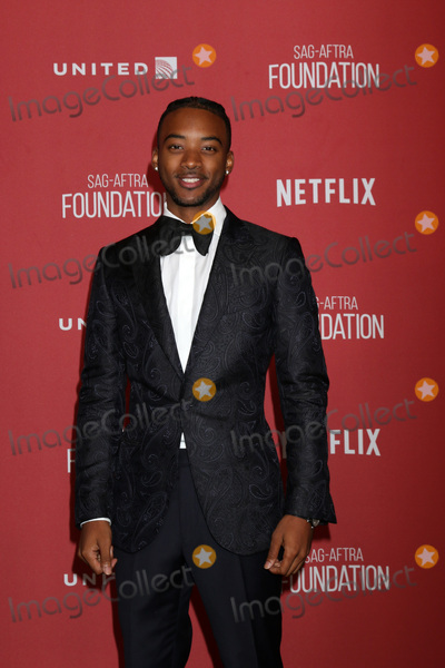 Algee Smith Photo - LOS ANGELES - NOV 9  Algee Smith at the SAG-AFTRA Foundations Patron of the Artists Awards 2017 at Wallis Annenberg Center for the Performing Arts on November 9 2017 in Beverly Hills CA