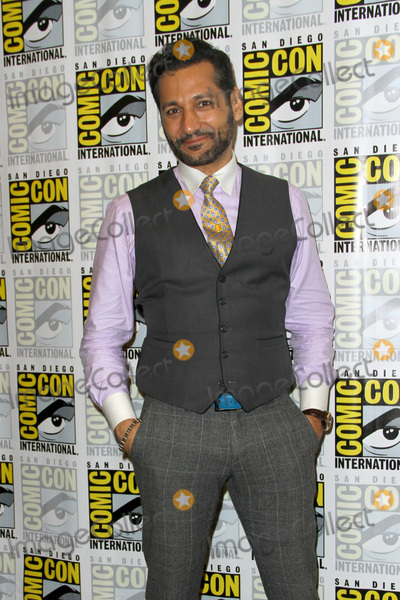 CAS ANVAR Photo - SAN DIEGO - July 22  Cas Anvar at Comic-Con Saturday 2017 at the Comic-Con International Convention on July 22 2017 in San Diego CA