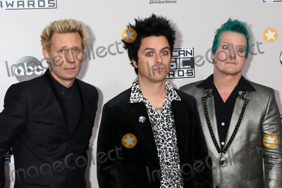 Billie Joe Armstrong Photo - LOS ANGELES - NOV 20  Mike Dirnt Billie Joe Armstrong Tr Cool Green Day at the 2016 American Music Awards at Microsoft Theater on November 20 2016 in Los Angeles CA