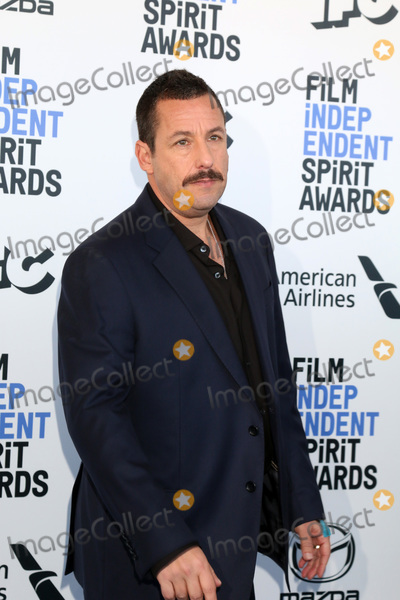 Adam Sandler Photo - LOS ANGELES - FEB 8  Adam Sandler at the 2020 Film Independent Spirit Awards at the Beach on February 8 2020 in Santa Monica CA