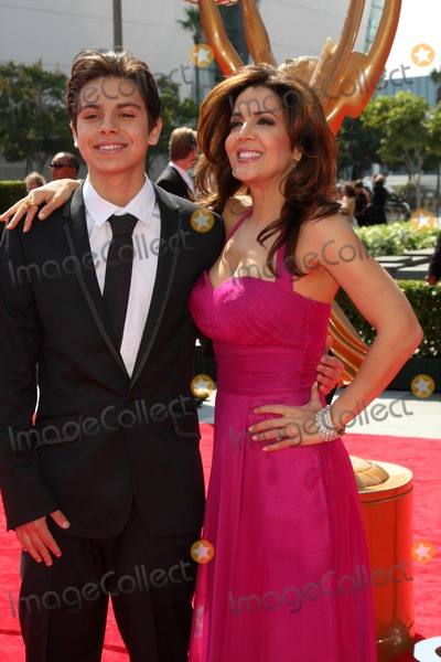 Jake T Austin Photo - LOS ANGELES - SEP 10  Jake T Austin Maria Canals-Barrera arriving at the Celebration of LA ARTS MONTH at Calvin Klein Store on September 10 2011 in Los Angeles CA