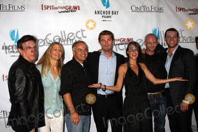 Andrew Howard Photo - LOS ANGELES - SEP 29  Paul Hertzberg Lisa Hansen Kevin Kasha Jeff Branson Sarah Butler Andrew Howard Daniel Franzese arrives at the I Spit on Your Grave Premiere at Mann Chinese 6 Theaters - Hollywood  Highland on September 29 2010 in Los Angeles CA