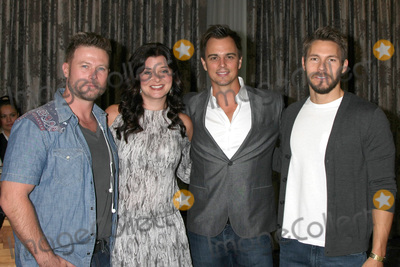 Jacob Young Photo - LOS ANGELES - AUG 20  Jacob Young Heather Tom Darin Brooks Scott Clifton at the Bold and the Beautiful Fan Event 2017 at the Marriott Burbank Convention Center on August 20 2017 in Burbank CA