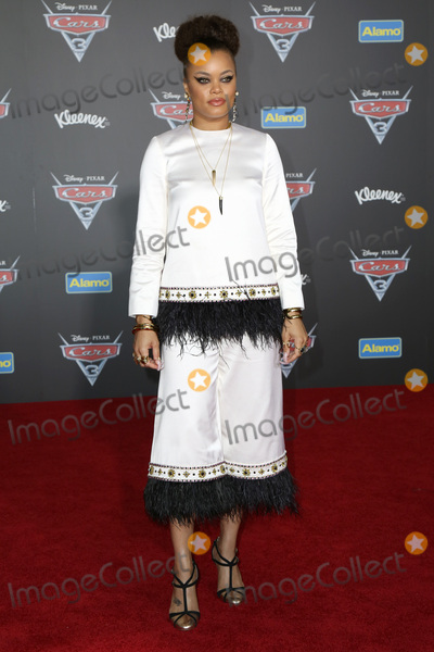 Andra Day Photo - LOS ANGELES - JUN 10  Andra Day at the Cars 3 Premiere at the Anaheim Convention Center on June 10 2017 in Anaheim CA