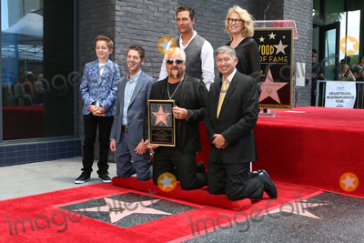 Leron Gubler Photo - LOS ANGELES - MAY 22   Ryder Fieri Hunter Fieri Matthew McConaughey Guy Fieri Kathleen Finch Leron Gubler at the Guy Fieri Star Ceremony on the Hollywood Walk of Fame on May 22 2019 in Los Angeles CA