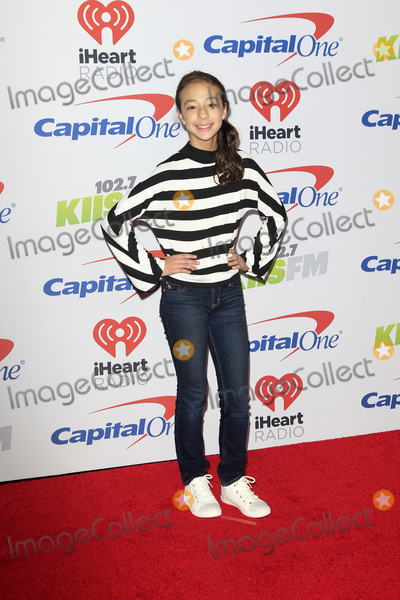 Aubrey Anderson Photo - LOS ANGELES - DEC 2  Aubrey Anderson Emmons at the Jingle Ball 2017 at the Forum on December 2 2017 in Inglewood CA