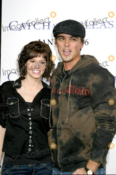Darin Brooks Photo - Rachel Melvin  Darin BrooksCatch  Release PremiereThe Egyptian TheaterLos Angeles CAJanuary 22 2007