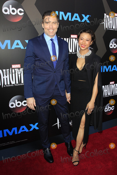 Anson Mount Photo - LOS ANGELES - AUG 28  Anson Mount Darah Trang at the ABC and Marvels Inhumans Premiere Screening at the Universal City Walk on August 28 2017 in Los Angeles CA