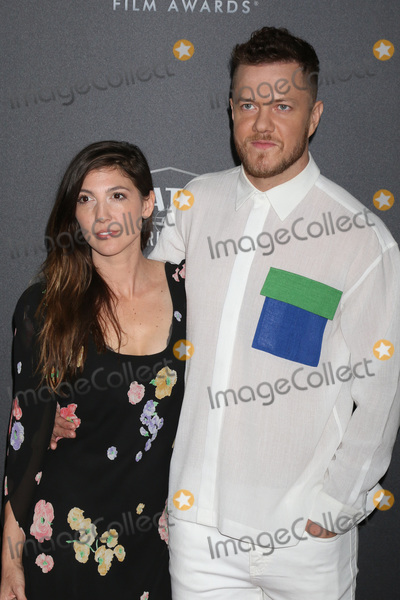 Aja Volkman Photo - LOS ANGELES - NOV 4  Aja Volkman Dan Reynolds at the Hollywood Film Awards 2018 at the Beverly Hilton Hotel on November 4 2018 in Beverly Hills CA