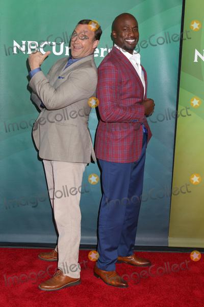 Akbar Gbaja-Biamila Photo - LOS ANGELES - MAY 2  Matt Iseman Akbar Gbaja-Biamila at the NBCUniversal Summer Press Day at Universal Studios on May 2 2018 in Universal City CA