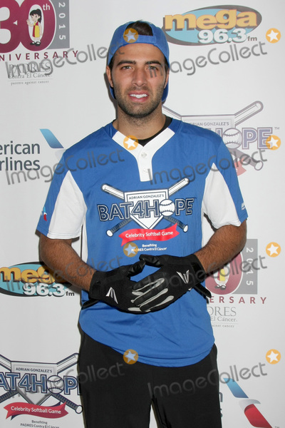Adrian Gonzalez Photo - LOS ANGELES - NOV 7  Jencarlos Canela at the Adrian Gonzalezs Bat 4 Hope Celebrity Softball Game PADRES Contra El Cancer at the Dodger Stadium on November 7 2015 in Los Angeles CA