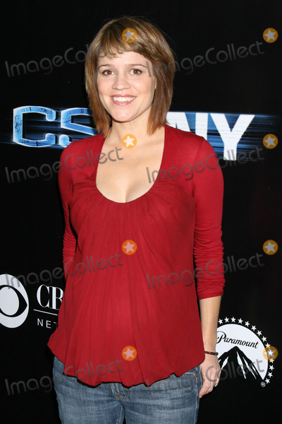 Anna Belknap Photo - Anna Belknap arriving at the CSI New York 100th Show Party at the Edison Hotel in Los Angeles CA on November 1 2008