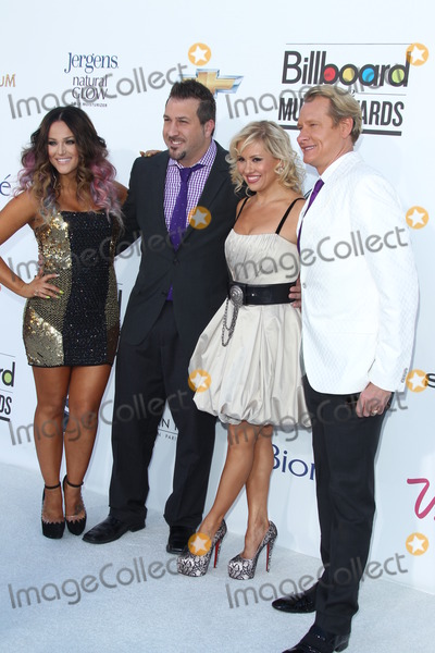 Anya Garnis Photo - LAS VEGAS - MAY 20  (L-R) Lacey Schwimmer singer Joey Fatone and dancers Anya Garnis and Carson Kressley arrives at the 2012 Billboard Awards at MGM Garden Arena on May 20 2012 in Las Vegas NV