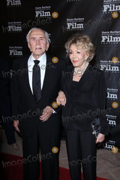 Anne Buydens Photo -  Bruce RobinsonLOS ANGELES - OCT 13  Kirk Douglas Anne Buydens arriving at the SBIFFs 2011 Kirk Douglas Award For Excellence In Film  at the Biltmore Four Seasons Hotel on October 13 2011 in Santa Barbara CA