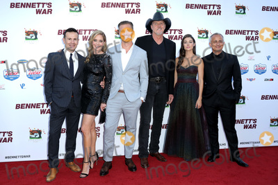 Christina Moore Photo - LOS ANGELES - AUG 13  Alex Ranarivelo Christina Moore Michael Roark Trace Adkins Allison Paige Ali Afshar Hunter Clowdus at the Bennetts War Los Angeles Premiere at the Warner Brothers Studios on August 13 2019 in Burbank CA