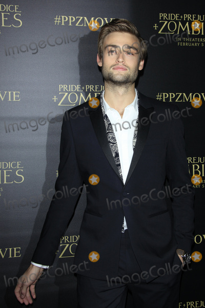 Douglas Booth Photo - LOS ANGELES - JAN 21  Douglas Booth at the Pride And Prejudice And Zombies Premiere at the Harmony Gold Theatre on January 21 2016 in Los Angeles CA