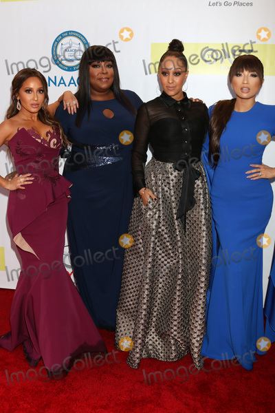 Adrienne Bailon Photo - LOS ANGELES - FEB 11  Adrienne Bailon Houghton Loni Love Tamera Mowry Jeannie Mai at the 48th NAACP Image Awards Arrivals at Pasadena Conference Center on February 11 2017 in Pasadena CA
