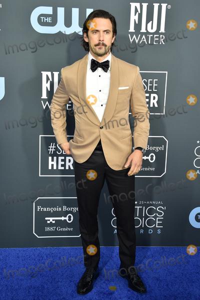 Milo Ventimiglia Photo - LOS ANGELES - JAN 12  Milo Ventimiglia at the Critics Choice Awards 2020 at the Barker Hanger on January 12 2020 in Santa Monica CA