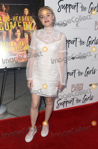 AJ Michalka Photo - LOS ANGELES - AUG 22  AJ Michalka at the Support the Girls Los Angeles Premiere at the ArcLight Theater on August 22 2018 in Los Angeles CA