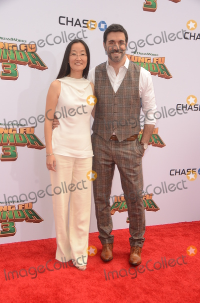 Alessandro Carloni Photo - LOS ANGELES - JAN 16  Jennifer Yuh Nelson Alessandro Carloni at the Kung Fu Panda 3 Premiere at the TCL Chinese Theater on January 16 2016 in Los Angeles CA