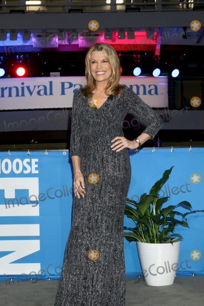 Vanna White Photo - LOS ANGELES - DEC 10  Vanna White at the Carnival Panorama Press Day at Long Beach Carnival Cruise Terminal on December 10 2019 in Long Beach CA