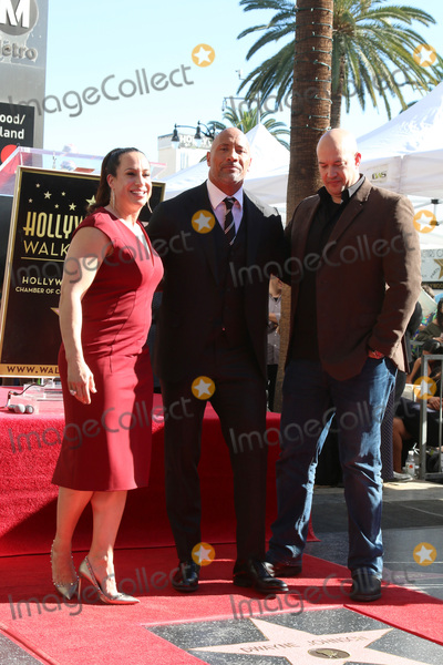 Dany Garcia Photo - LOS ANGELES - DEC 13  Dany Garcia Dwayne Johnson Hiram Garcia at the Dwayne Johnson Star Ceremony on the Hollywood Walk of Fame on December 13 2017 in Los Angeles CA