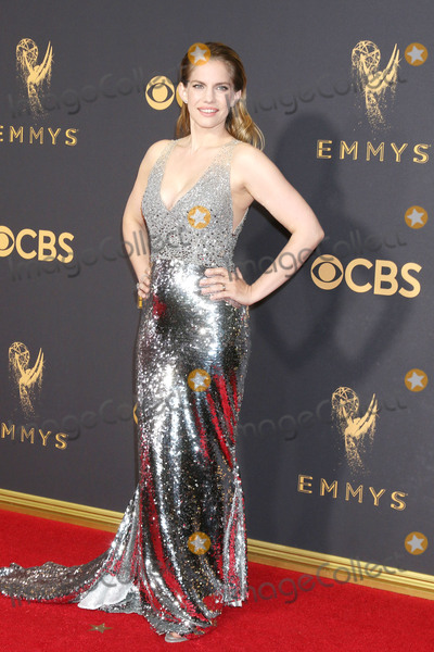 Anna Chlumsky Photo - LOS ANGELES - SEP 17  Anna Chlumsky at the 69th Primetime Emmy Awards - Arrivals at the Microsoft Theater on September 17 2017 in Los Angeles CA