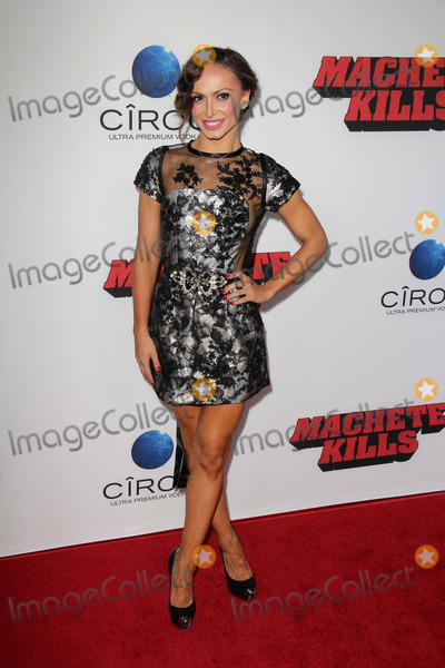 Karina Smirnoff Photo - LOS ANGELES - OCT 2  Karina Smirnoff at the Machete Kills Los Angeles Premiere at Regal 14 Theaters on October 2 2013 in Los Angeles CA