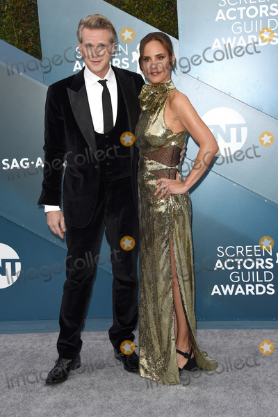 Lisa Maris Photo - LOS ANGELES - JAN 19  Cary Elwes Lisa Marie Kubikoff at the 26th Screen Actors Guild Awards at the Shrine Auditorium on January 19 2020 in Los Angeles CA