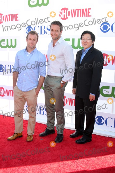 Alex OLoughlin Photo - LOS ANGELES - JUL 29  Scott Caan Alex OLoughlin Masi Oka arrives at the CBS CW and Showtime 2012 Summer TCA party at Beverly Hilton Hotel Adjacent Parking Lot on July 29 2012 in Beverly Hills CA
