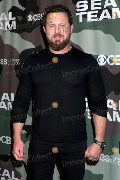 AJ Buckley Photo - LOS ANGELES - FEB 25  AJ Buckley at the Seal Team Screening at the ArcLight Hollywood on February 25 2020 in Los Angeles CA
