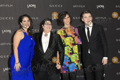 Catherine Opie Photo - LOS ANGELES - NOV 3  Catherine Opie Oliver Opie Julie Burleigh Sara LaCroix at the 2018 LACMA Art and Film Gala at the Los Angeles County Musem of Art on November 3 2018 in Los Angeles CA