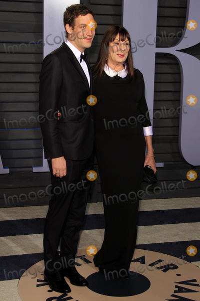 Anjelica Huston Photo - LOS ANGELES - MAR 4  James Jagger Anjelica Huston at the 24th Vanity Fair Oscar After-Party at the Wallis Annenberg Center for the Performing Arts on March 4 2018 in Beverly Hills CA
