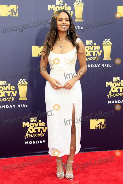 Alisha Boe Photo - LOS ANGELES - JUN 16  Alisha Boe at the 2018 MTV Movie And TV Awards at the Barker Hanger on June 16 2018 in Santa Monica CA